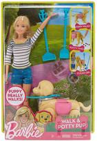 Mattel Inc. Barbie Walk and Potty Pup Playset