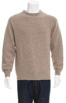 Loro Piana Virgin Wool Crew Neck Sweater