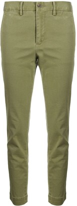 Polo Ralph Lauren Cropped Mid-Rise Trousers