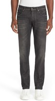 Versace Men's Embellished Pocket Straight Leg Jeans