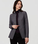 LOFT Tall Custom Stretch Notched Blazer