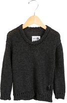 Nununu Boys' Pullover Rib Knit-Trimmed Sweater w/ Tags