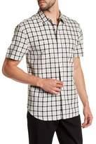 Lucky Brand Mason Short Sleeve Print Woven Shirt