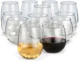 Libbey Set of 12 Stemless Wine Glasses