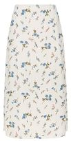 SET Floral Print Midi Skirt