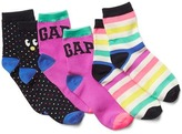 Gap Print half crew socks (3-pairs)