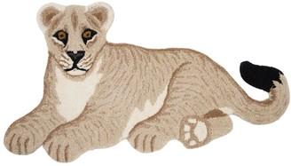Lion Wool Rug For Lvr