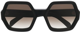 Celine Oversized Geometric-Frame Sunglasses