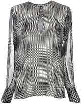 Tufi Duek slit sleeves blouse