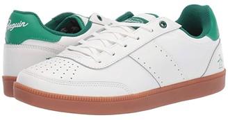 Original Penguin Collin (White/Green) Men's Lace up casual Shoes