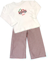 Princess Linens White Truck Personalized Long-Sleve Tee - Infant & Toddler