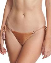 Ale By Alessandra California Tie-Side Swim Bottom, Brown