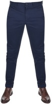 Lacoste Slim Fit Chino Trousers Navy