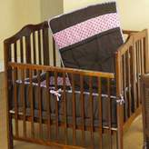 Baby Doll Bedding Cocoa Dots Port-a-Crib Set