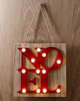 Fashion World Noel Bulb Lit Wall Art