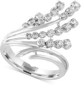 Effy Pavé Classica by Diamond Waterfall Ring (1/2 ct. t.w.) in 14k White Gold