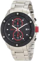 Redline red line Men's RL-10106DV Carbon Brake Chronograph Black Dial Watch