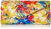 Quiz Women's Rio Print Paint Envelope Clutch