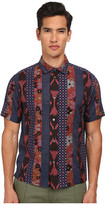 Marc by Marc Jacobs Patchwork Cotton Short Sleeve Shirt