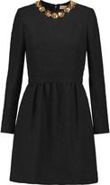 Tory Burch Embellished jacquard mini dress