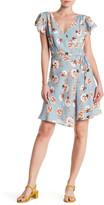 Eight Sixty Flutter Sleeve Dress