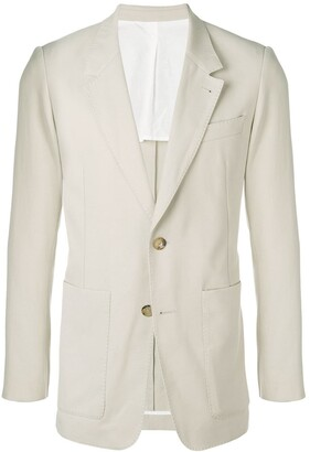 Ami Two Buttons Long Fit Jacket