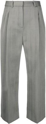 Racil Cropped Herringbone Trousers