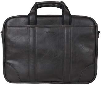 """Ben Sherman Faux Leather Dual Compartment 15.6"""" Laptop Case"""