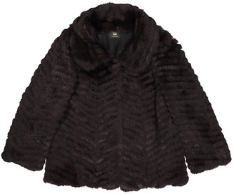 Anya Hindmarch Brown Fur Jackets