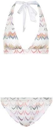 Missoni Mare Zig-zag knit bikini