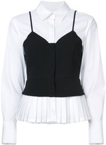 Yigal Azrouel layered bustier shirt