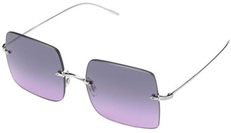 Oliver Peoples Oishe (Soft Gold/Aegean Gradient) Fashion Sunglasses