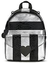 Victoria's Secret Victorias Secret Luxe Python Stripe Mini City Backpack