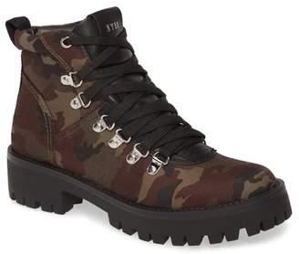 Steve Madden Bumper Camo Platform Hiking Boot