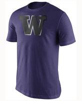 Nike Men's Washington Huskies Champ Drive Reflective Logo T-Shirt
