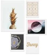 DENY Designs Fancy Five-Piece Gallery Wall Art Print Set