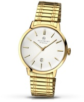 Accurist Gold Plated Expander Bracelet Watch 7098.01