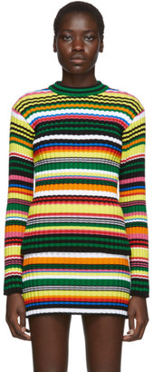 AGR SSENSE Exclusive Multicolor Striped Mens Sweater