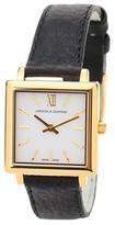 Larsson & Jennings Norse 27X34mm leather watch