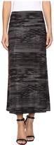 Nally & Millie Printed Reversible Midi Skirt