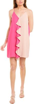 Krisa Ruffle Slip Dress