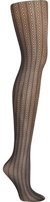 Hanes Plus Size Curves Rib Net Tights