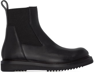 Rick Owens Creeper leather ankle boots