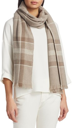Loro Piana East River Striped Cashmere Scarf
