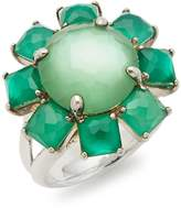 Ippolita Women's Rock Candy Turquoise & 18K Yellow Gold Large Octagon Ring - Gold-turquoise, Size 7