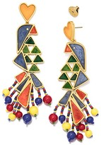Tory Burch Parrot Statement Earring