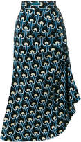 Marni Portrait pattern skirt