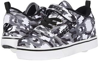 Heelys Pro 20 (Little Kid/Big Kid/Adult) (Black/White/Camo) Boy's Shoes