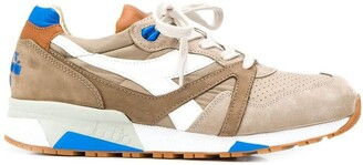 Diadora Contrasting Panel Sneakers