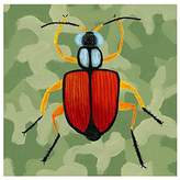 Oopsy Daisy Fine Art For Kids Green Camo Beetle